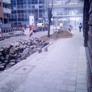 Wallhöfe Hamburg, Neanderstraße, 01. Februar 2011