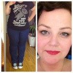 Outfit und Schnute of teh Night. #fotd #ootn #casual #plussize #plussizefashion #makeup