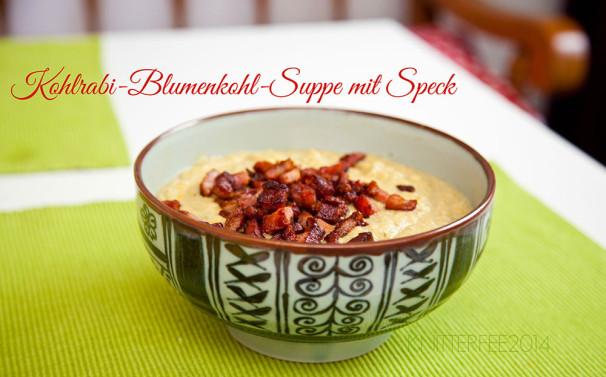 Kohlrabi-Blumenkohl-Suppe