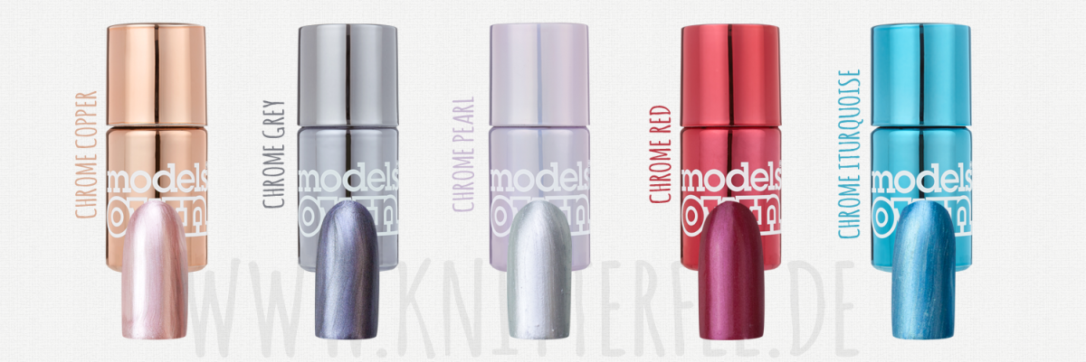 Models Own Colour Chromes Nagellacke