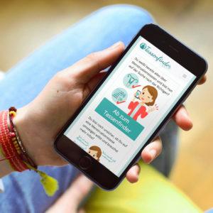 Automatisierte Beratung für Menstruationstassen