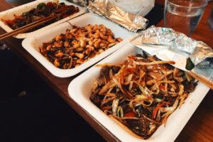Koreanisches Bestellfutter